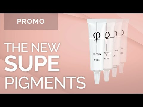 The New SUPE Formula Pigments! - Phibrows Microblading Academy USA