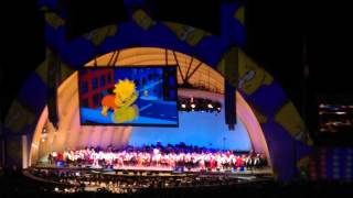 Do the Bartman at Hollywood Bowl - The Simpsons Take the Bowl