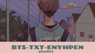 BTS•TXT•ENHYPEN  (cute playlists)