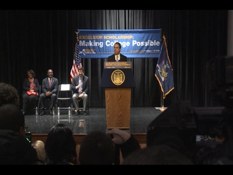 Governor Cuomo Delivers Remarks at Buffalo State College