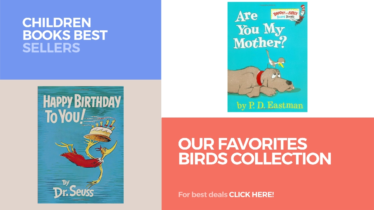 our favorites birds collection children books best sellers