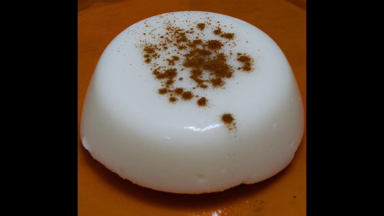 Download How to make Puerto Rican Tembleque or Coconut Custard (Bilingual)