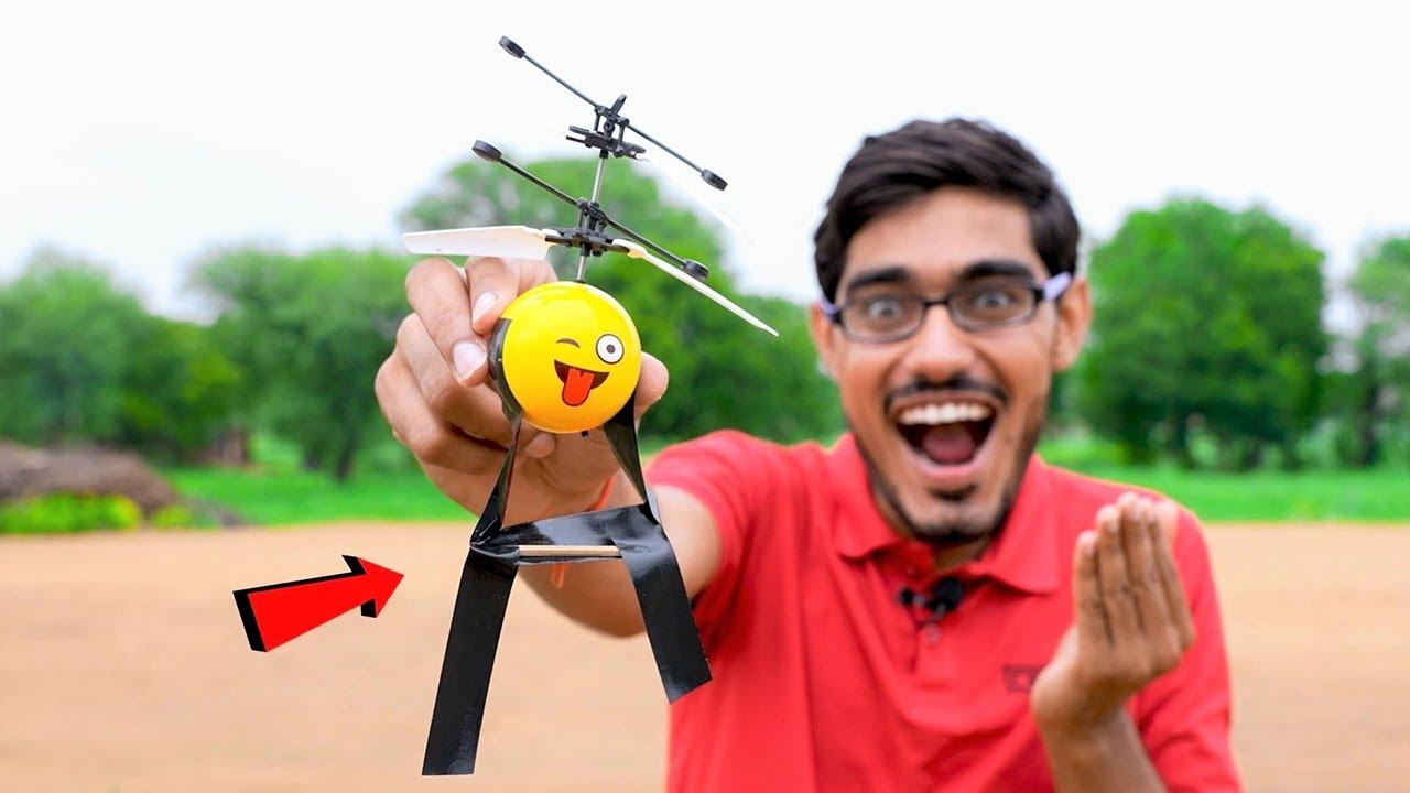 We Made Flying Emoji Balls Fool | उड़ने वाली इस बॉल को उल्लू बनाया | Bahut Maza Aaya