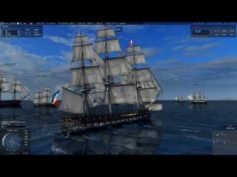 Naval Action: Wrong target! (USS Constitution gameplay)