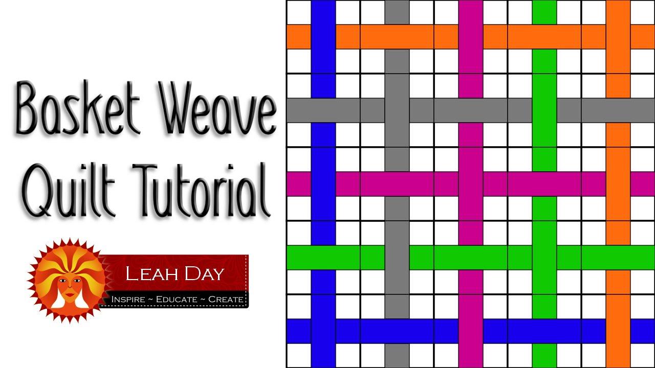 Easy Basket Weave Quilt Pattern : Beginner basket weave quilt pattern easy quilting