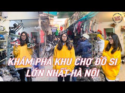 Khám phá chợ đồ Si lớn nhất Hà Nội. Mua giày cũ ở đâu??