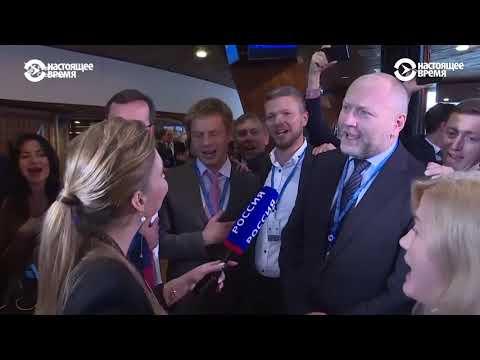 Украинская делегация спела гимн вместо интервью