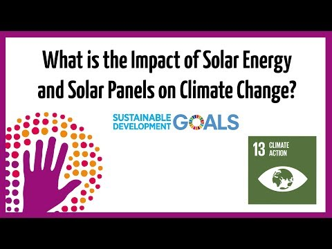 What is the Impact of Solar Energy and Solar Panels on Climate Change?