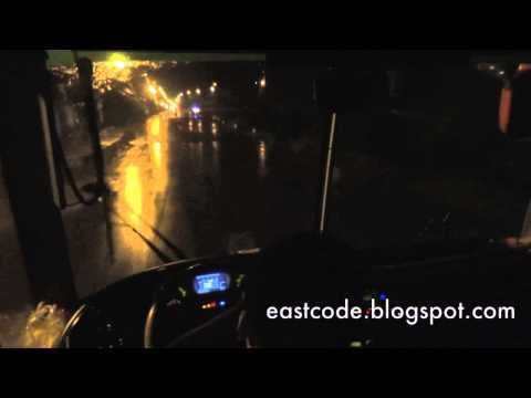 Driver View on   Vietnamese National Highway 1