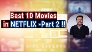 Best 10 Movies in NETFLIX - Part 2  | Filmi craft Arun