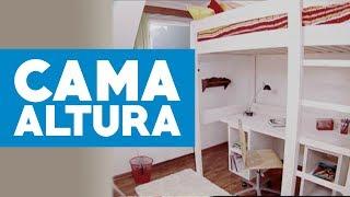 ¿Cómo construir una cama en altura?