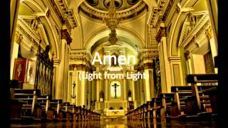 Amen (Light from Light) Instrumental Karaoke