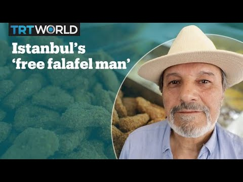 Syrian falafel shop owner feeds hundreds of poor people in Istanbul
