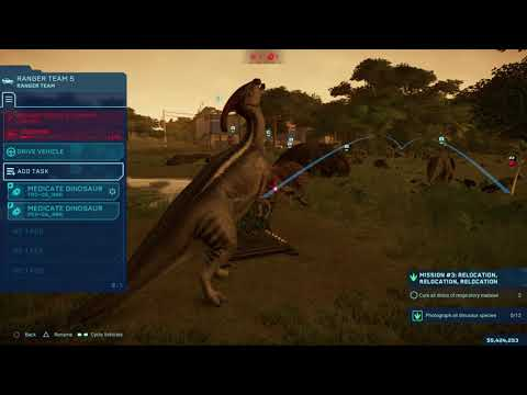 Jurassic World Evolution playing Claire's sanctuary |