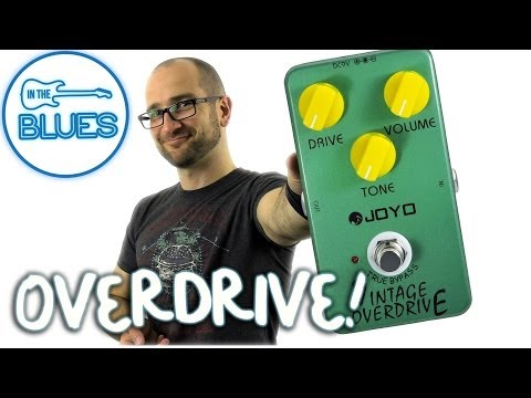 Joyo Vintage Overdrive Pedal Demo