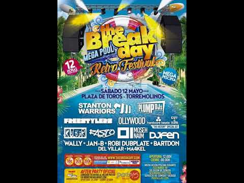 Plump DJs - The Break Day Mega Pool Retro Festival