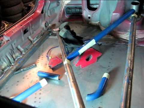 Diy Rear Strut Bar Honda Civic Coupe Ej6 Youtube