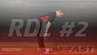 RTS Coaching: Hips up on RDL's
