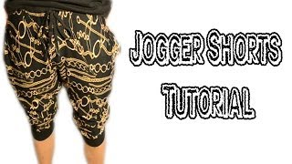 DIY: How to make Jogger Shorts | From Scratch #14