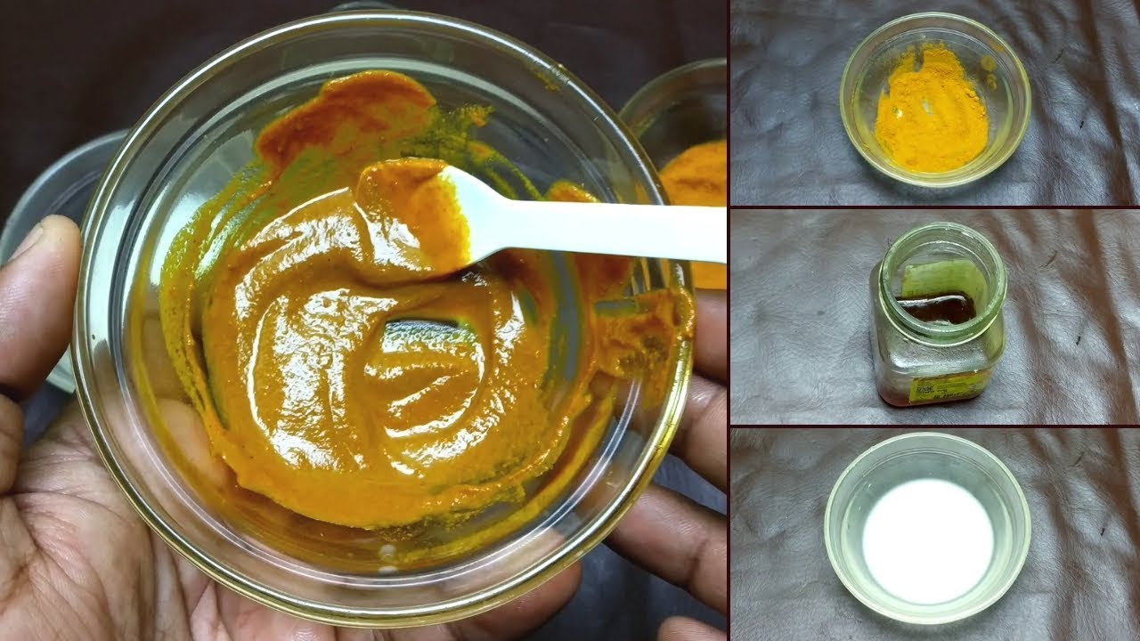 How to Use Milk Honey and Turmeric for Dark Circles - YouTube