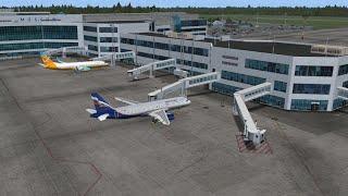 Установка аэропорта Домодедово UUDD для Microsoft Flight Simulator X   FSX