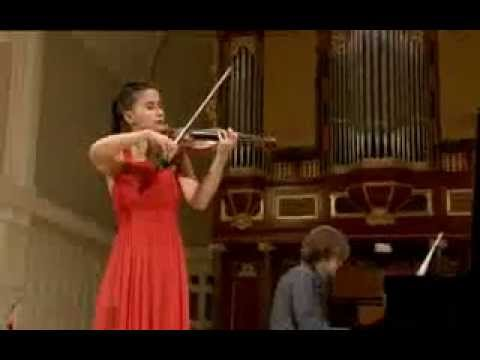 Aysen Ulucan plays at 14th International Henryk Wieniawski Violin Competition 2011 (Stage 2)