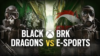 [BR] BLACK DRAGONS vs. BRK E-SPORTS | Play Day #2 | EliteSix S03 (XBOX)