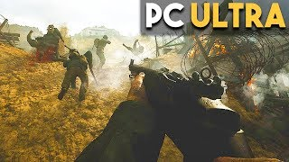 Call of Duty WW2 PC Ultra Settings Gameplay