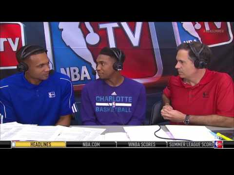 Malik Monk Joined Grant Hill And Matt Winer During NBA Summer League