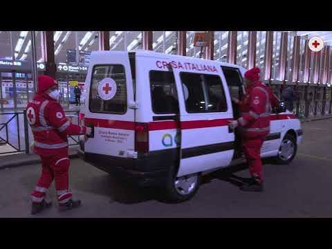 Fabio Campoli per la Croce Rossa Italiana