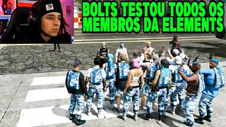 CONNOR FOI CAPTURADO E BOLTS TESTOU TODOS OS MEMBROS DA ELEMENTS - GTA RP - EP.45/2ªT