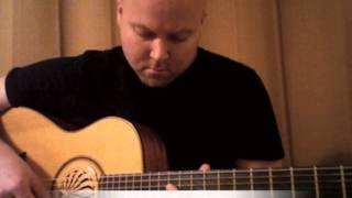 Looping Guitar in 7/8 Time - John Scott Evans