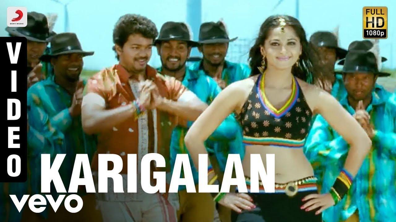 Download Vettaikaaran - Karigalan Video | Vijay, Anushka