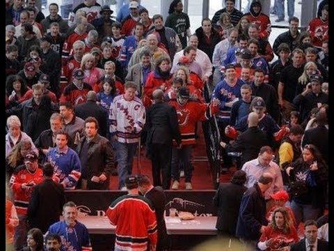 Devils   Rangers Fans Get Into Fight. - YouTube d8f8e426f51