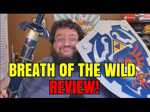 REVIEW - LEGEND OF ZELDA: BREATH OF THE WILD REVIEW!