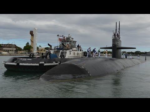 Navy says goodbye to submarine USS Houston