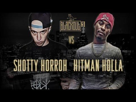KOTD - Rap Battle - Shotty Horroh vs Hitman Holla   #Blackout5