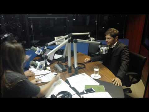10/02/17 - Kicillof en Ecuador - Radio FM Mundo: Paraísos Fiscales
