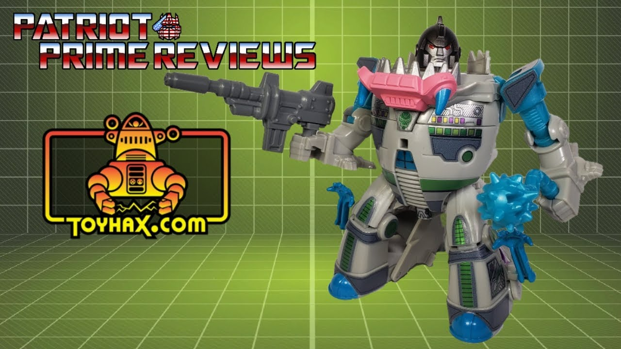 Toyhax Decals & Rifle for Cyberverse Gnaw By Patriot Prime Reviews