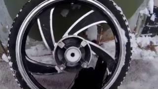 Как можно править литые диски на мотоцикле !!(, 2017-02-20T13:45:00.000Z)