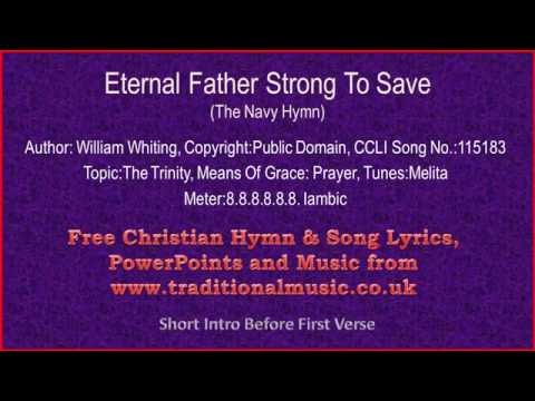 Eternal Father Strong To Save(Navy Hymn)(MP122) - Lyrics & Music