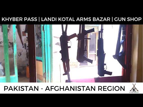 Khyber Pass Tribal Area Gun Markets - Visit July 2017