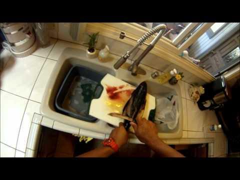 How to clean Ahi