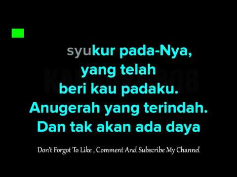 Anugerah Terindah ~ Black Karaoke Version ~ Karaoke 808mp4