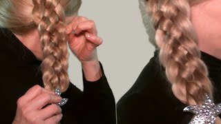 Плетение Косичек Видео Уроки| Красивая Коса из 5 прядей| Beautiful Hair in the Braid strands of 5