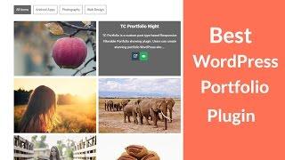 Best WordPress Portfolio  Plugin  To Make A WordPress Portfolio Website