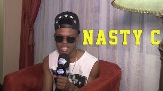 Nasty C interview vs Dj Sting, Talks juice back remix and SAHHA 2015
