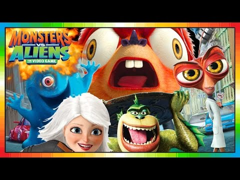 2009 MONSTERS vs ALIENS SET OF 8 McDONALD'S HAPPY MEAL MOVIE TOY'S VIDEO REVIEW from YouTube · Duration:  4 minutes 55 seconds