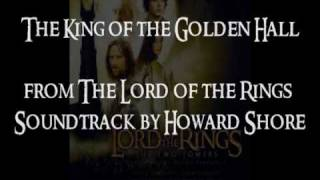 harp cover the king of the golden hall lotr ost howard shore