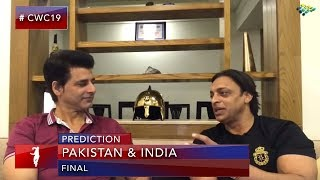 Pakistan & India Final | Cricket World Cup 2019 | Predictions by Shoaib Akhtar